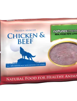 Natures Menu Chicken and Beef 400g block