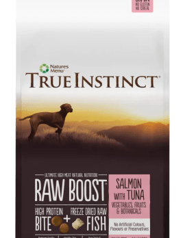 True Instinct Raw Boost Dog Salmon and Tuna 5kg Bag