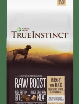 True Instict Raw Boost Dog Turkey 5kg Bag