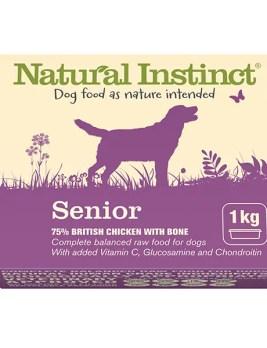 Natural Instinct Senior Dog Food 1kg Tub