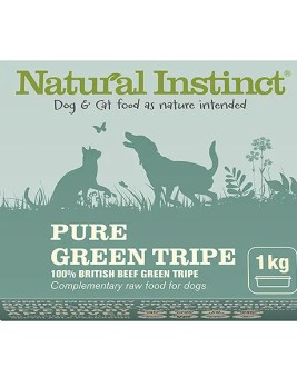 Natural Instinct Pure Green Tripe 1kg Tub