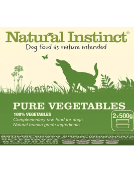 Natural Instinct 2 x 500g Tub