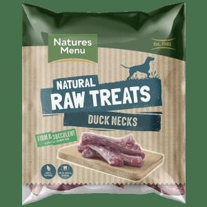 Natures Menu Raw Duck Necks Bag