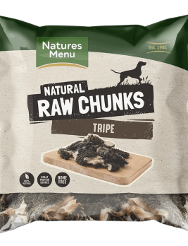 Natures Menu Raw Tripe Chunks Bag