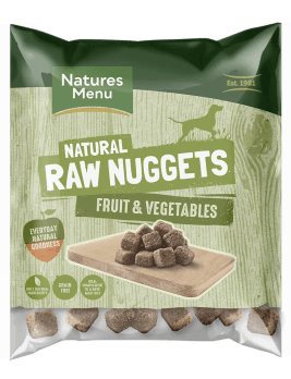 Natures Menu Blended Fruit and Vegetable Nuggets 1kg Bag