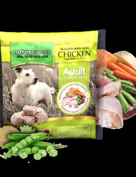 Natures Menu Original Raw Nuggets Chicken 1kg Bag