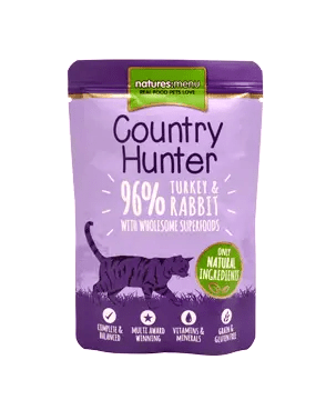 Country Hunter Cat Turkey 85g Pouch