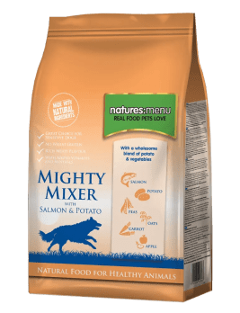 Mighty Mixer Biscuit with Salmon & Potatoes 2kg