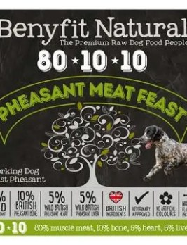Benyfit Natural Pheasant Meat Feast 1kg Tub