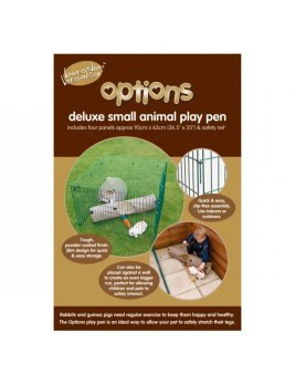 Options Rabbit Playpen with net