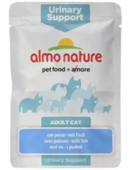 Almo Nature Urinary Support Cat Food with Fish