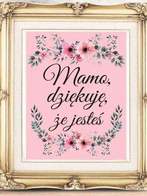 Świetny plakat na Dzień Matki - plakat z podziękowaniem dla mamy