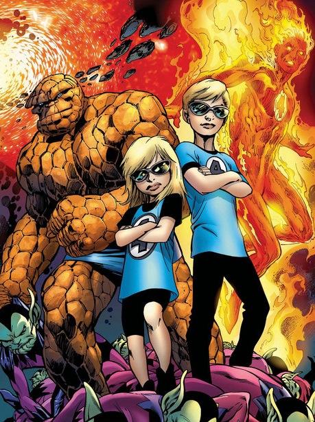 Secret Invasion: Fantastic Four #3 by Alan Davis