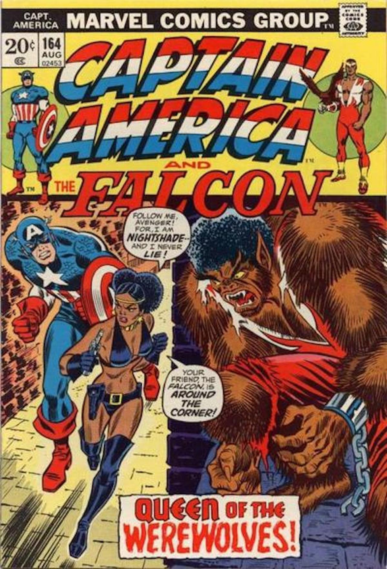 Captain America Vol.1 #164, Août, 1973