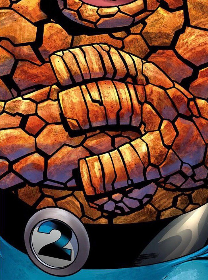 The Thing dans les Fantastic Two ?