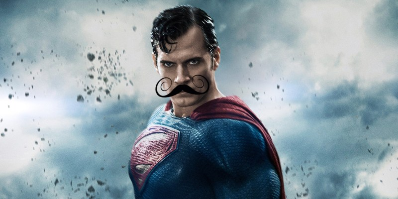 Justice League : la moustache de Superman