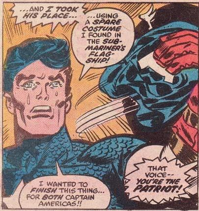 Captain America dans What if v1 04-33
