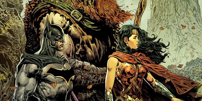 Wonder Woman et Batman dans The Brave and the Bold par Liam Sharp