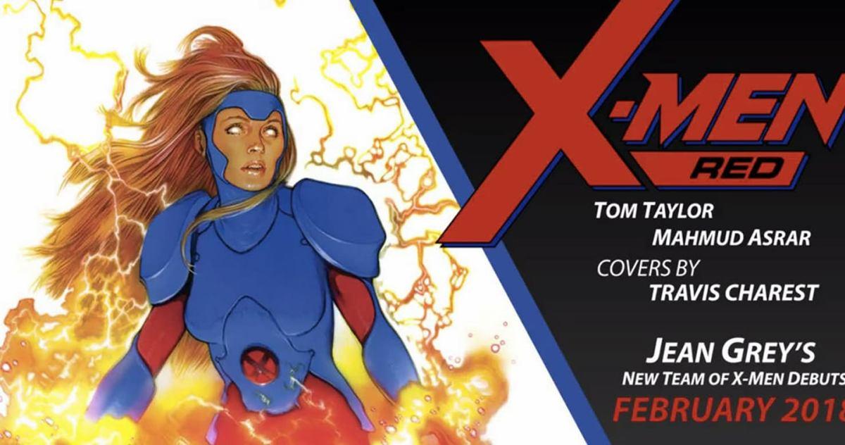 Jean Grey et les X-Men Red