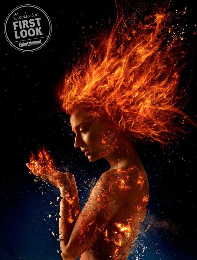 Sophie Turner dans X-Men: Dark Phoenix