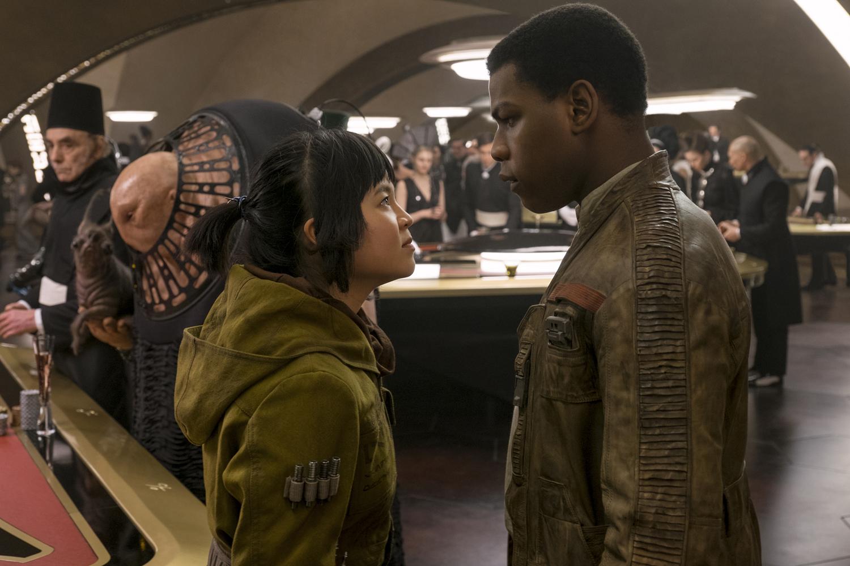 Finn et Rose dans Star Wars 8 : Les Derniers Jedi
