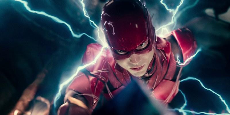 Ezra Miller dans le rôle de Flash pour Justice League