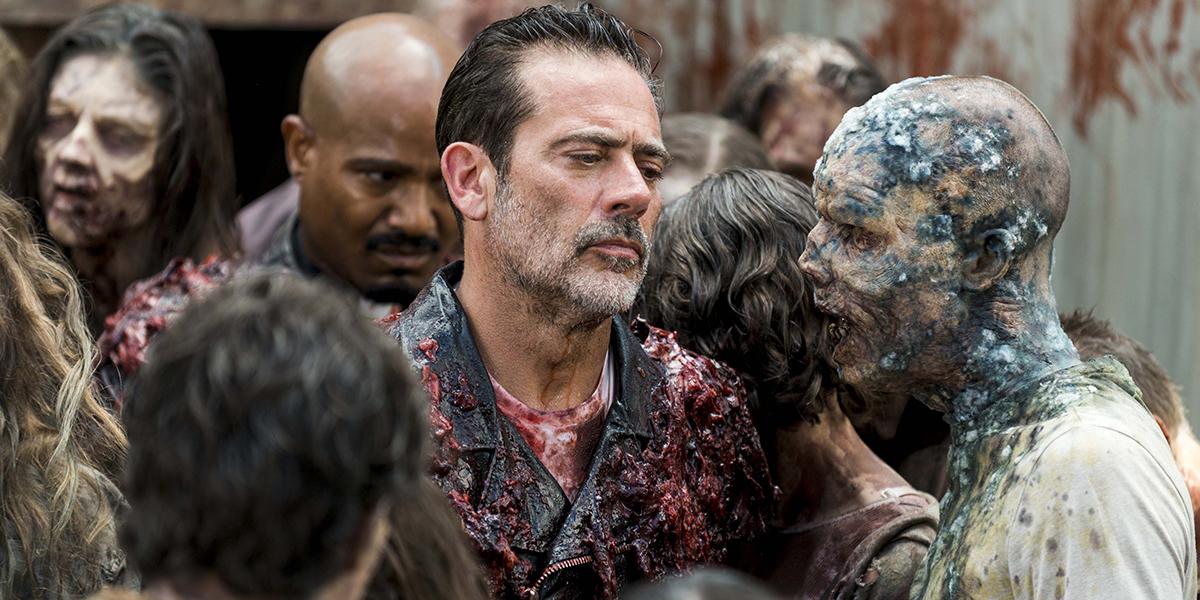 Negan (Jeffrey Dean Morgan) dans The Walking Dead