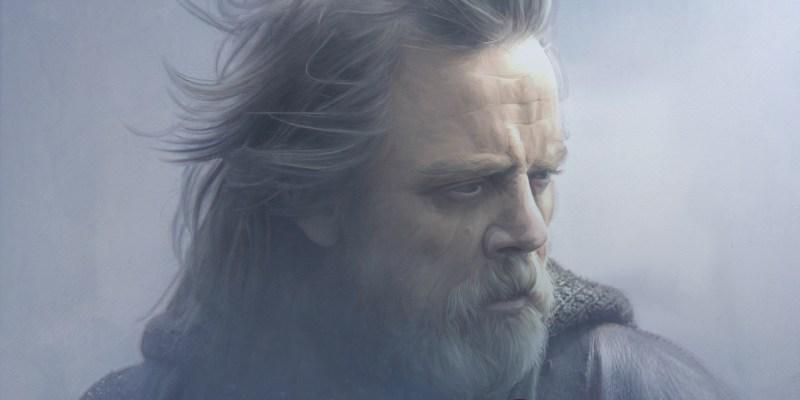 Luke Skywalker (Mark Hamill) dans Star Wars VIII : Les Derniers Jedi