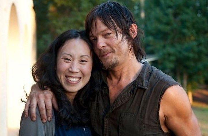 The Walking Dead : Angela Kang et Norman Reedus