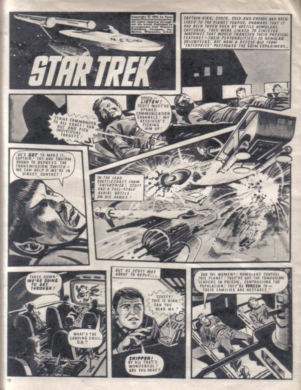 TV21 & Joe 90 #31, 2 avril 1970 (City Magazine, Ltd)