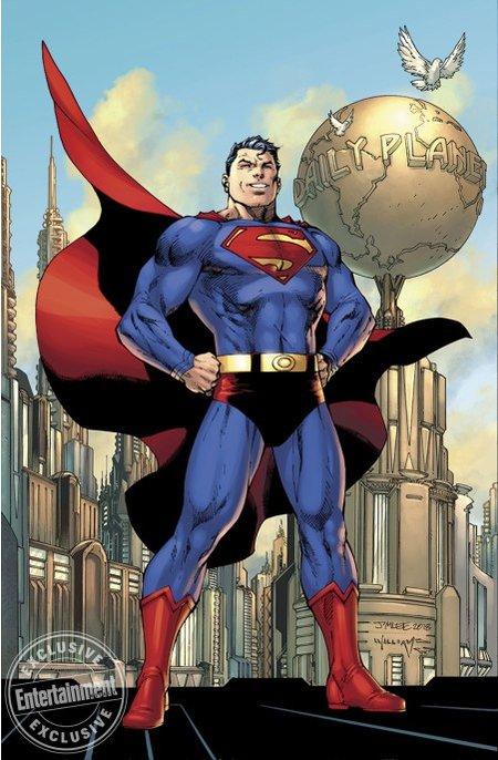 Action Comics #1000 par Jim Lee et Scott Williams (DC Comics)