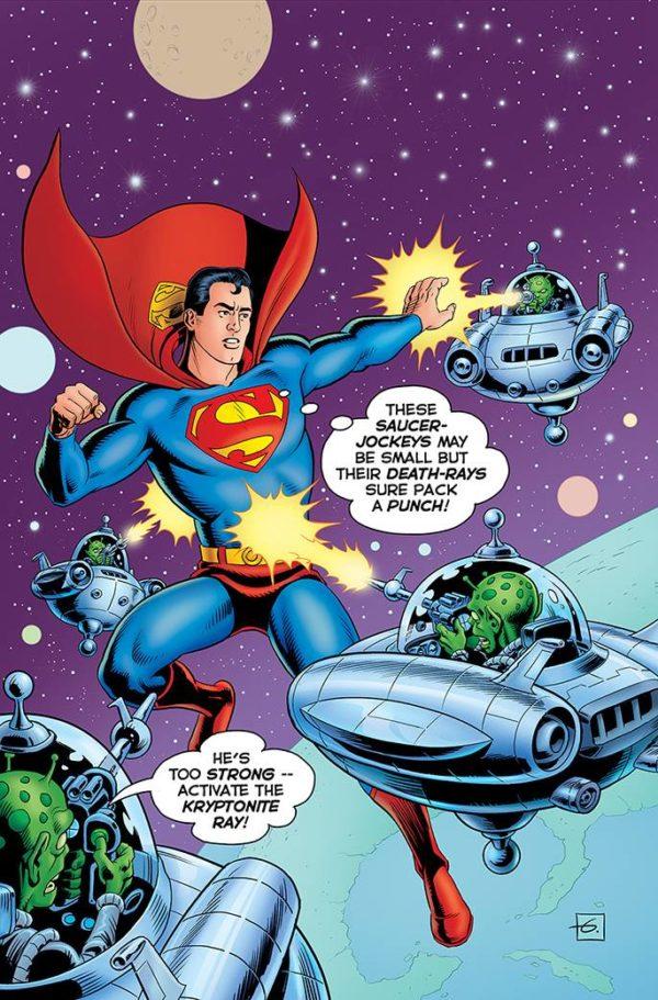 ACTION COMICS #1000 1950s - couverture variante par Dave Gibbons