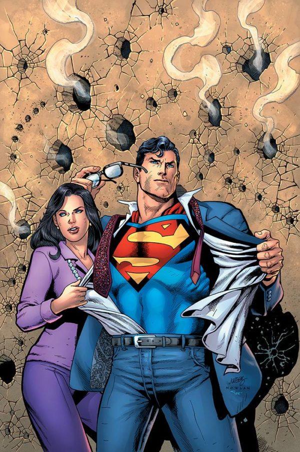 ACTION COMICS #1000 1990s - couverture variante par Dan Jurgens and Kevin Nowlan
