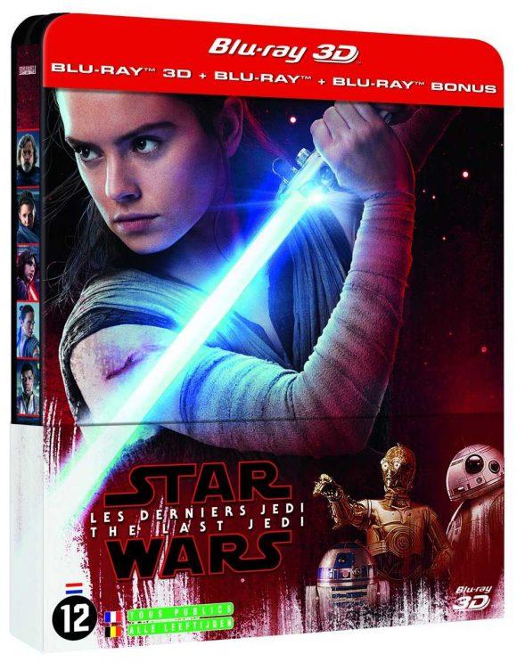 3D Steelbook  Star Wars : Les Derniers Jedi