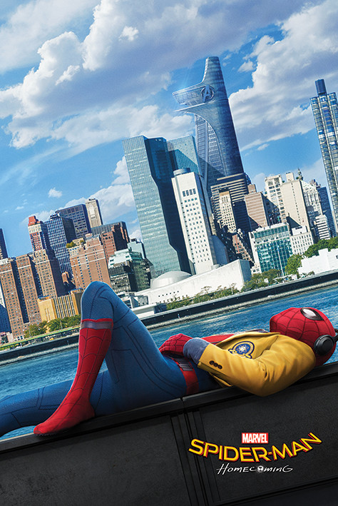Affiche Spider-Man : Homecoming