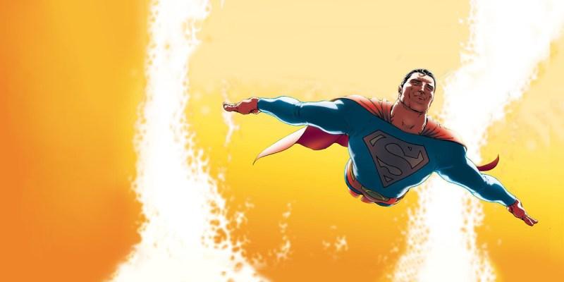 All-Star Superman par Frank Quietly. DC Comics