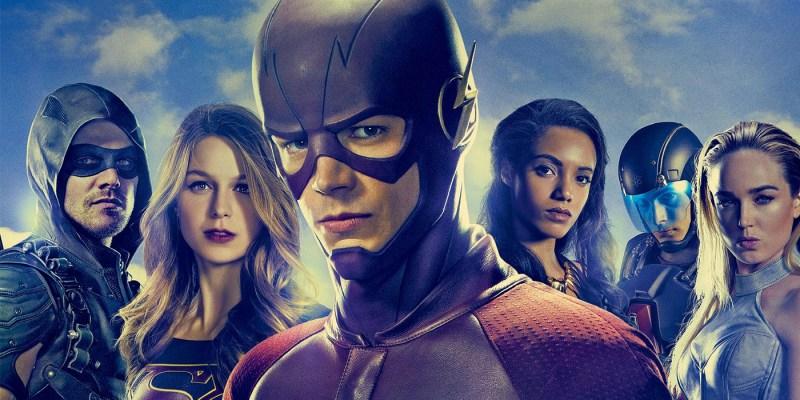L'Arrowverse de la CW : Green Arrow, The Flash, Supergirl, Legends of Tomorrow et Black Lightning