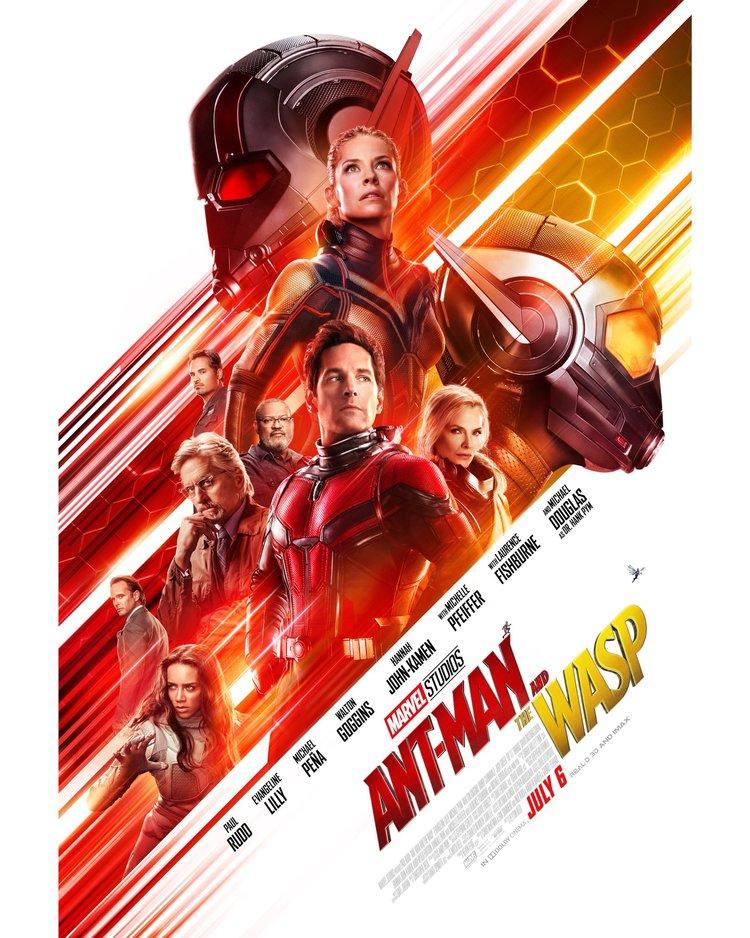 Affiche Ant-Man & La Guêpe