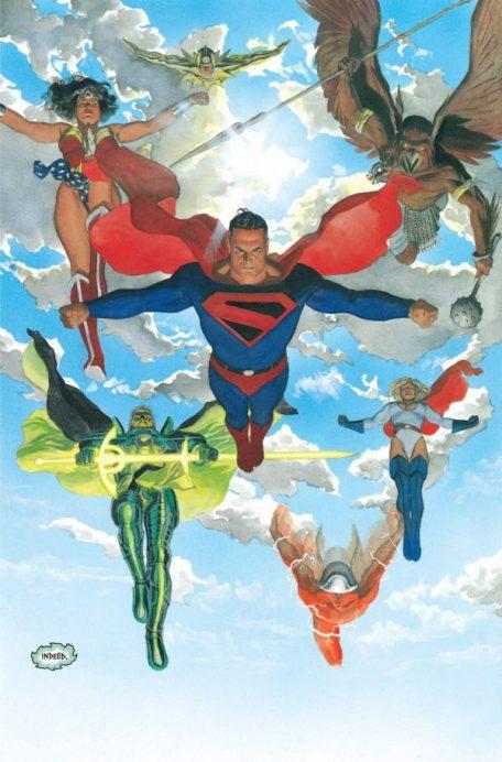 Kingdom Come Superheroes Ross