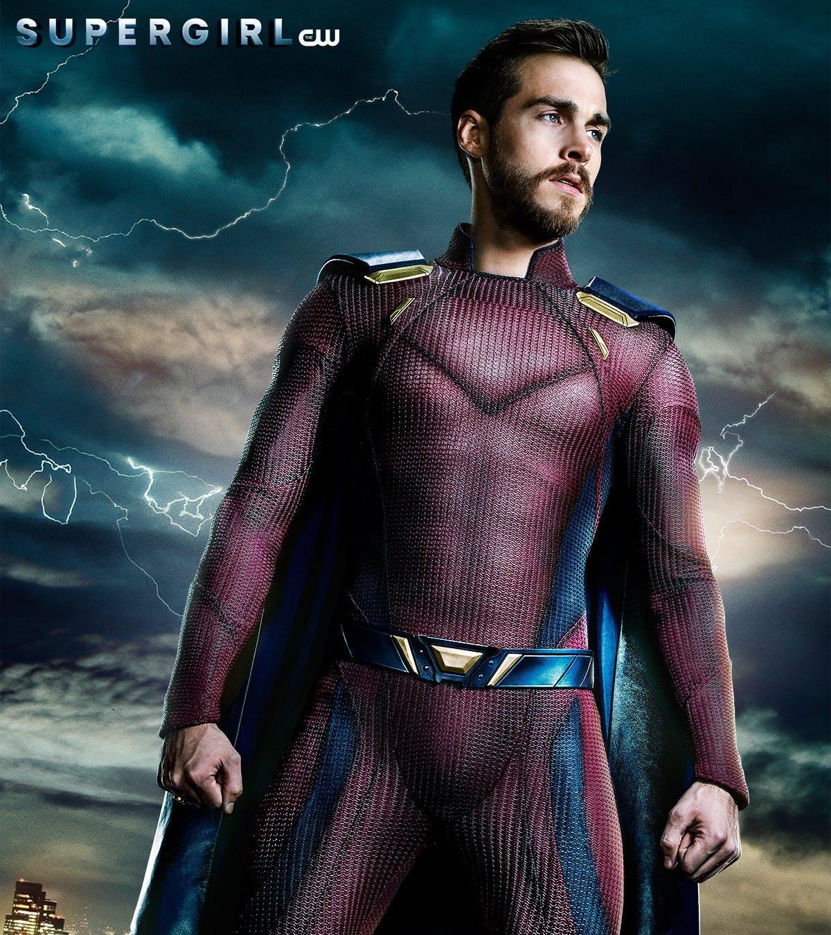 Mon-El et son nouveau costume dans Supergirl