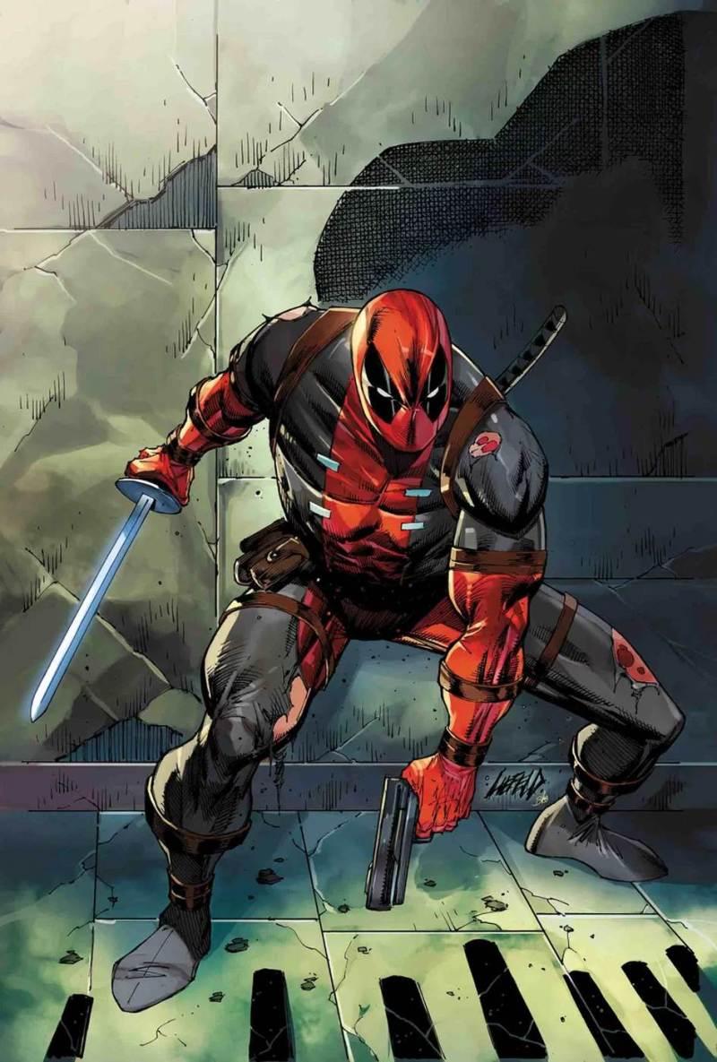 Deadpool #1 variant cover par Rob Liefield