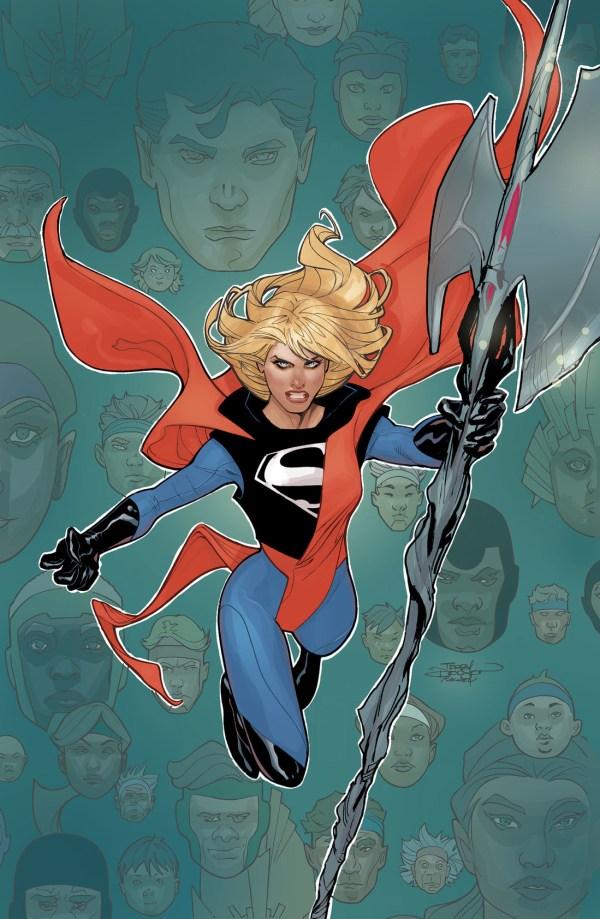 Supergir #21, couverture variante par Terry Dodson