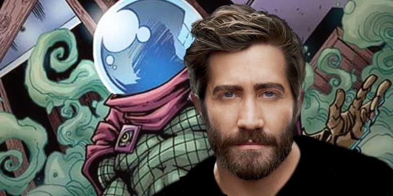 Jake Gyllenhaal dans le rôle de Mystério dans Spider-Man: Homecoming 2