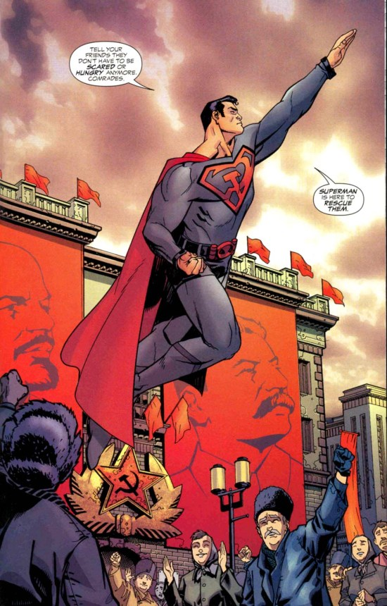 Superman Red Son issue 1 ending