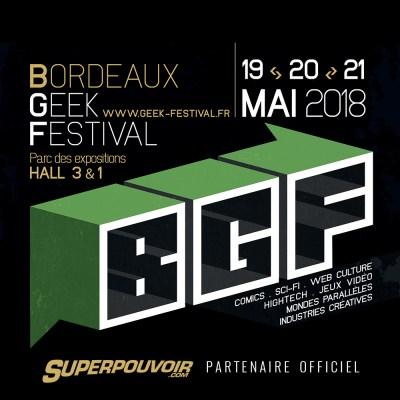 Superpouvoir.com partenaire du Bordeaux Geek Festival