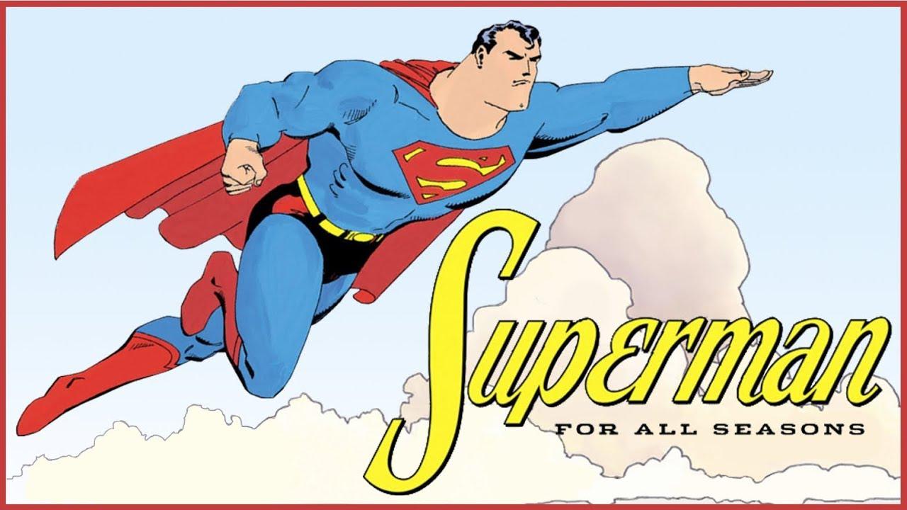 Superman au printemps, en été, en automne et en hiver