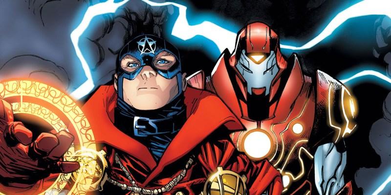 Soldier Supreme et Iron Hammer dans Infinity Warps