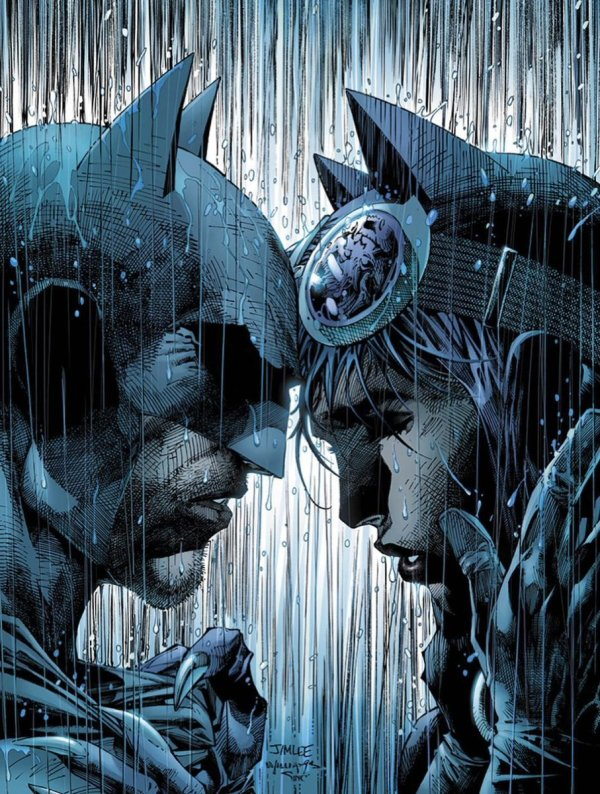Batman #50, couverture alternative de Jim Lee