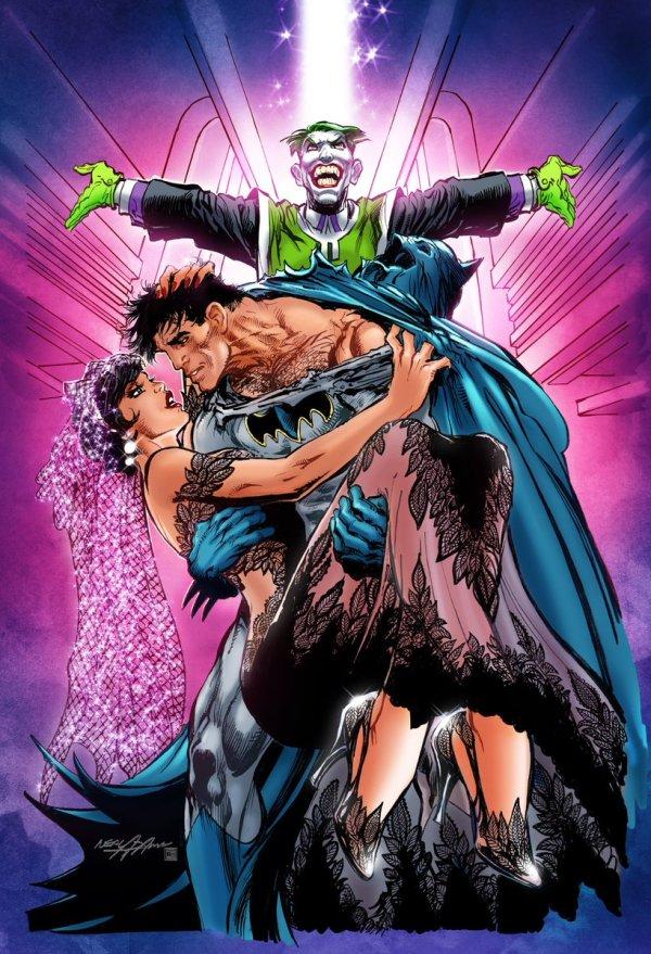 Batman #50, couverture alternative de Neal Adams