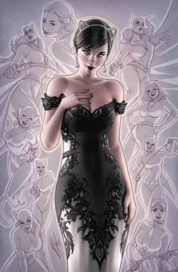 Batman #50, couverture alternative de Warren Louw